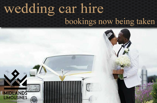 Midlands Limousines Wedding Car Hire