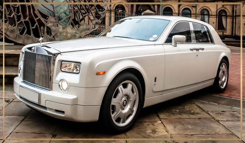 Rolls Royce Phantom Wedding Car Hire